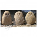 GQ-205, natural stone owls
