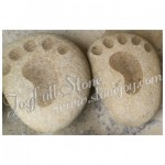 GQ-133, Footprint on stone