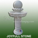 GFB-107, Crystal White Marble Fountain