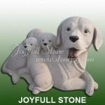 KA-394, Granite Dog Statues
