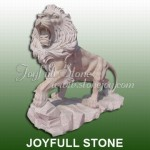KQ-378, Carved marble lions