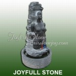 GFS-121, Black marble fountain