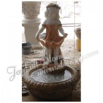 GFS-316, Marble fountain with girl statue