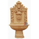 GFQ-054, Yellow marble wall fountain