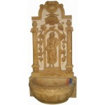 GFQ-014, Yellow marble wall fountain