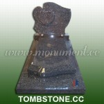 TE-378, Blue pearl tombstone
