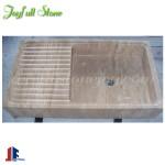 SK-027-1, Travertine Sink for Kitchen