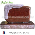 MU-023, Red granite monument