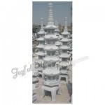 GL-322, Carved Granite Pagoda