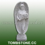 MS-378, Marble Religious Statue