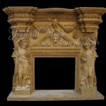 FS-002, Antique Fireplace Mantels