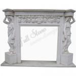 FS-008, Stone Fireplace Mantel Surround