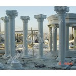 DC-091, White marble column