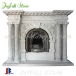 FC-226, White Marble Decorating Mantels