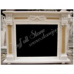 FC-406, Home Corner Fireplace Mantels,