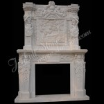 FO-004, Big Marble Fireplace Mantels