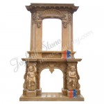 FO-007, Overmantel Sculpted Fireplaces,