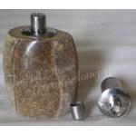 Natural stone oil lamp