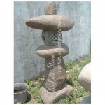 GL-105, Natural stone lantern