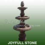 GFT-112, Polished red granite fountain