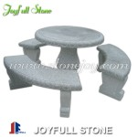 GT-001-3, grey granite table set