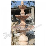 GFT-135, Sunset Red Marble Fountain