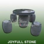 GT-457, Black stone table set