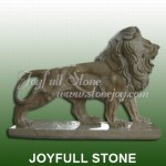 KQ-313, Marble lion sculpture