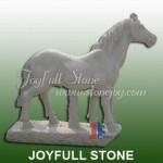 KG-002, Granite horse statue