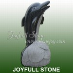 KY-004, Black stone dolphin statue