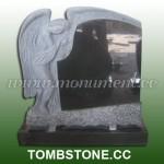 MS-014, Shanxi Black Angel headstone