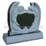 MS-002, double heart headstone