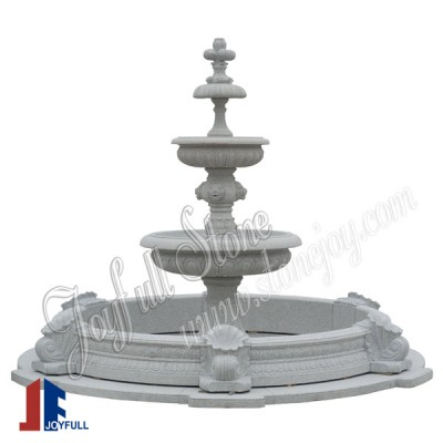 GFP-210, Large outdoor stone fountain