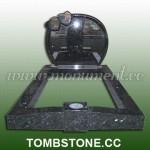 MK-023, European style granite tombstones