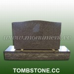 MU-207, Simple style granite headstones