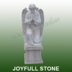 MS-372, White marble religious statue