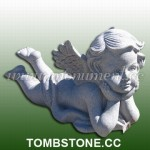 MS-415, Grey granite angel statue