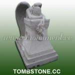 MS-029, Marble weeping angel memorials