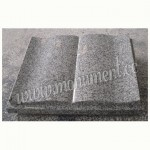 MU-376, Grey granite memorial book
