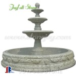 GFP-213, Sunset red marble fountain