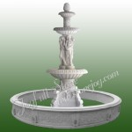 GFP-158, Large Granite statuary fountain