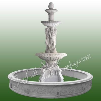 GFP-158, Large Granite statuary fountain