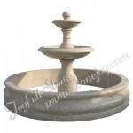 GFP-218, Polished yellow granite fountain