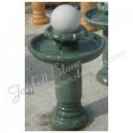 GFB-100, Green marble ball fountain