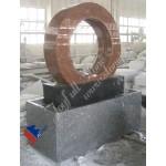 Granite Rotating wheel fountain