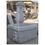 GFW-124, Grey granite fountain