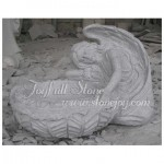 GPW-031, Garden Planter With Angel Statue