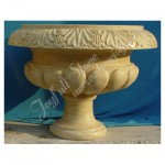 GP-443, Yellow Marble Planter