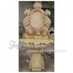GFW-259, Yellow marble wall fountain