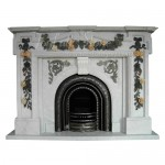 FG-700, Indoor Freestanding Fireplace Mantel